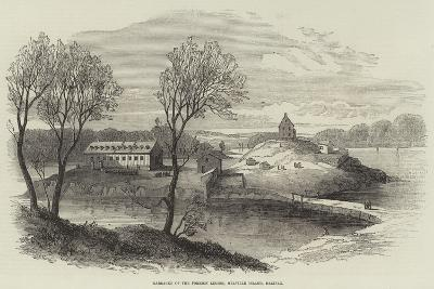 Barracks of the Foreign Legion, Melville Island, Halifax--Giclee Print