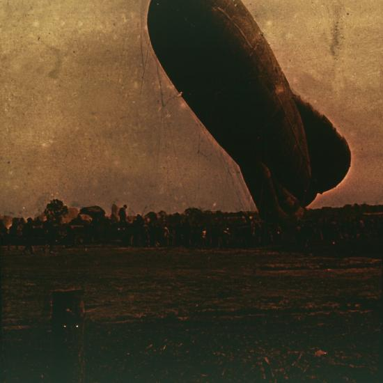 Barrage balloon, c1914-c1918-Unknown-Photographic Print