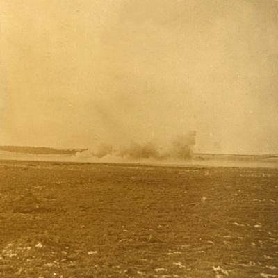 Barrage fire, c1914-c1918-Unknown-Framed Photographic Print