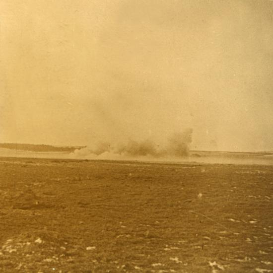 Barrage fire, c1914-c1918-Unknown-Photographic Print