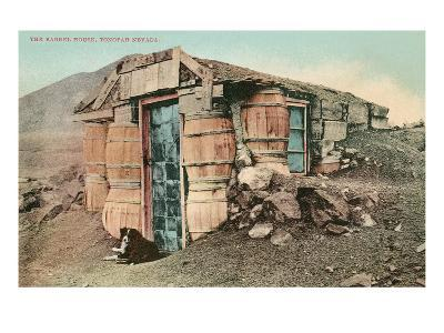 Barrel House, Tonapah, Nevada--Art Print