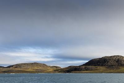 Barren Landscape along Hudson Bay, Nunavut Territory, Canada-Paul Souders-Photographic Print