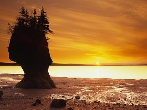 Hopewell Rocks, New Brunswick, Canada by Barrett & Mackay