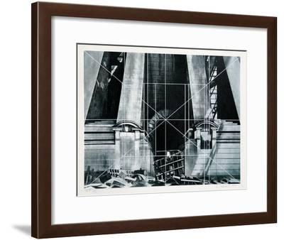 Barriers-Lowell Nesbitt-Framed Serigraph
