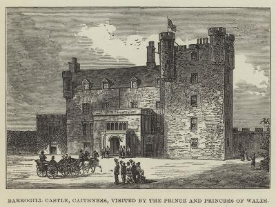 Barrogill Castle, Caithness, Visited by the Prince and Princess of Wales--Giclee Print