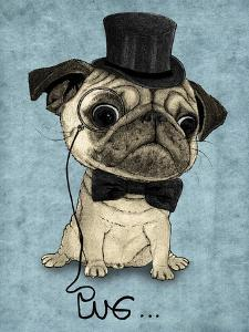 Gentle Pug by Barruf