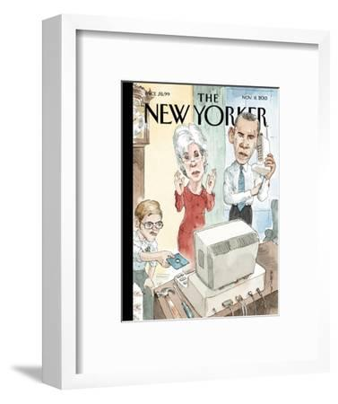Reboot - The New Yorker Cover, November 11, 2013