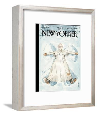 Snow Angel - The New Yorker Cover, December 23, 2013