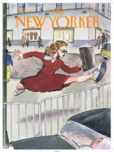 The New Yorker Cover - April 6, 1998 by Barry Blitt