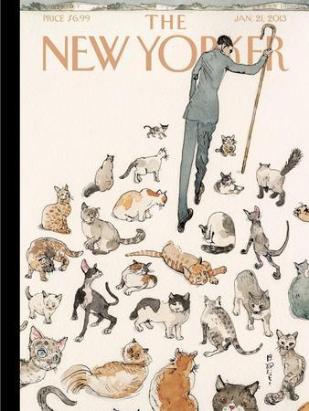 The New Yorker Cover - January 21, 2013
