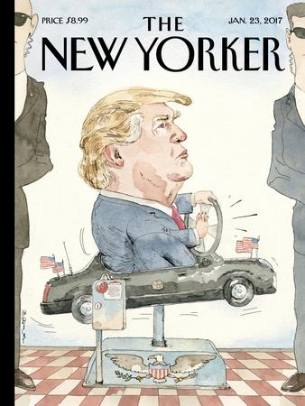 The New Yorker Cover - January 23, 2017