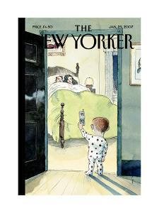 The New Yorker Cover - January 29, 2007 by Barry Blitt