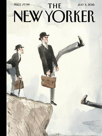 The New Yorker Cover - July 4, 2016