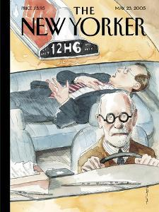 The New Yorker Cover - May 23, 2005 by Barry Blitt