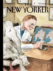 The New Yorker Cover - May 25, 2009 by Barry Blitt