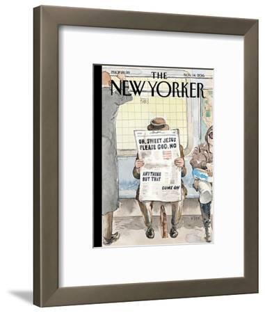The New Yorker Cover - November 14, 2016