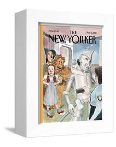 The New Yorker Cover - November 16, 1998 by Barry Blitt
