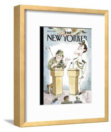 The New Yorker Cover - October 11, 2004