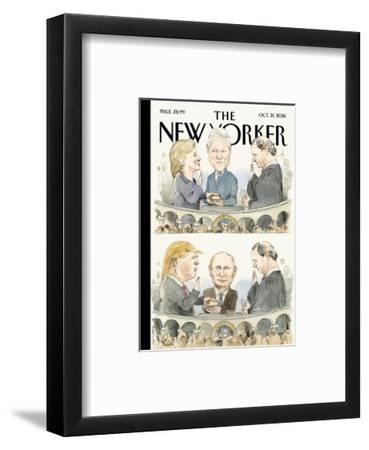The New Yorker Cover - October 31, 2016