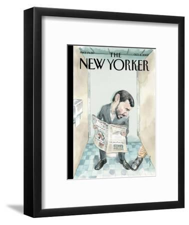 The New Yorker Cover - October 8, 2007