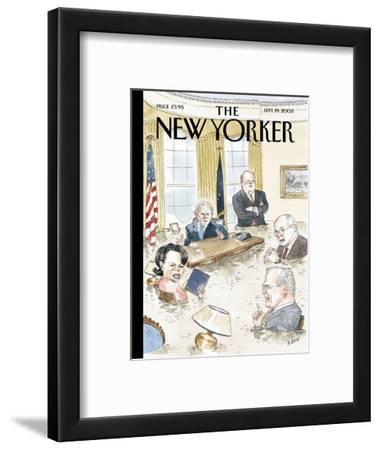 The New Yorker Cover - September 19, 2005