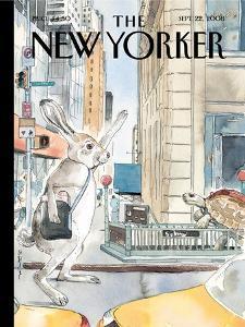 The New Yorker Cover - September 22, 2008 by Barry Blitt