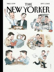 The New Yorker Cover - September 3, 2012 by Barry Blitt