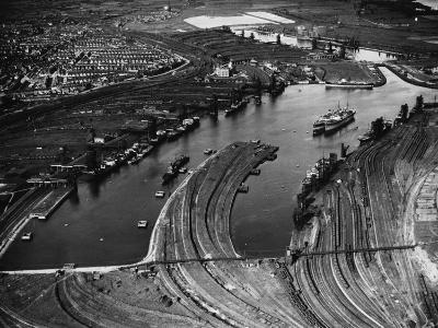 Barry Docks--Photographic Print