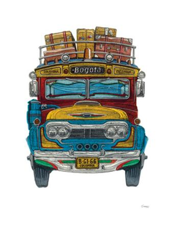 Columbian Bus by Barry Goodman