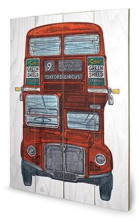 Barry Goodman - Routemaster Wood Sign