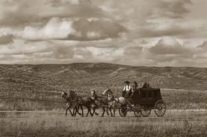 Stagecoach Run by Barry Hart