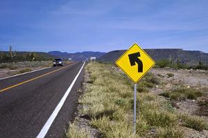 Rio El Novillo, Mexican Federal Highway No. 1 by Barry Herman