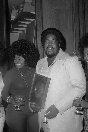 Barry White, London,1974-Brian O'Connor-Photographic Print