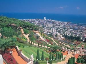 Baha'i Shrine and Garden, Israel by Barry Winiker