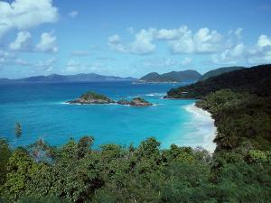 Bay, St. John, US Virgin Islands by Barry Winiker