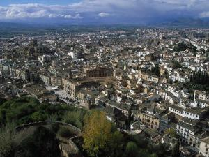 Granada from the Alhambra, Spain by Barry Winiker