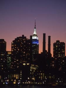 Midtown East Skyline at Dusk, NYC by Barry Winiker