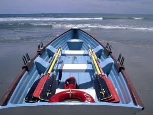 Rescue Boat, Atlantic City, NJ by Barry Winiker