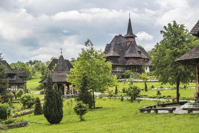 Barsana Monastery, One of the Wooden Churches of Maramures, UNESCO World Heritage Site-Matthew Williams-Ellis-Photographic Print