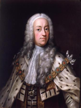 Portrait of King George