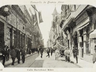 Bartholemew Mitre Street in Buenos Aires, Argentina--Photographic Print