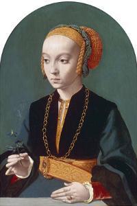 Portrait of Elisabeth Bellinghausen, 1538-39 by Bartholomaeus Bruyn