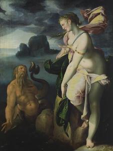Glaucus and Scylla by Bartholomaeus Spranger
