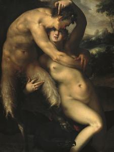 Jupiter and Antiope by Bartholomaeus Spranger