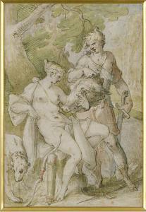 Mythological Scene by Bartholomaeus Spranger