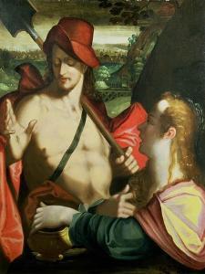 Noli Me Tangere by Bartholomaeus Spranger