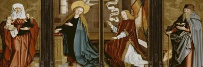L'Annonciation, Sainte Anne Trinitaire, Saint Antoine Abbé