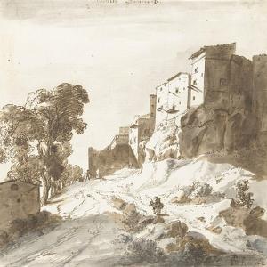 Castello Bomarzo, 1625 by Bartholomeus Breenbergh