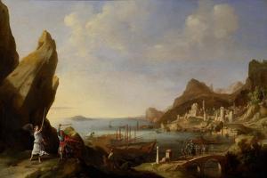 Coastal Landscape with Balaam and the Ass, 1634 by Bartholomeus Breenbergh