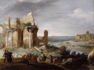 Moses and Aaron Changing the Rivers of Egypt to Blood, 1631 by Bartholomeus Breenbergh
